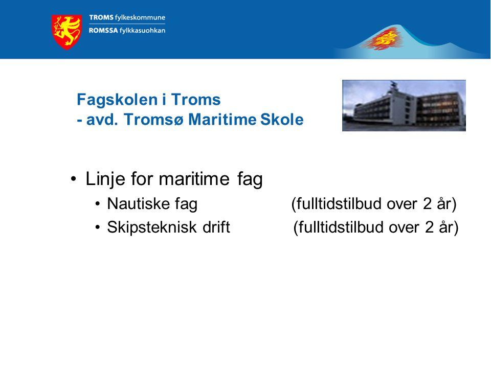 Fagskolen i Troms - avd. Tromsø Maritime Skole