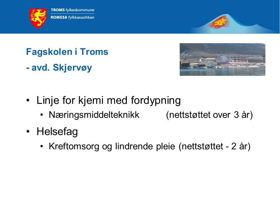 Fagskolen i Troms - avd. Skjervøy