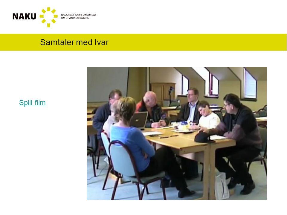 Samtaler med Ivar Spill film