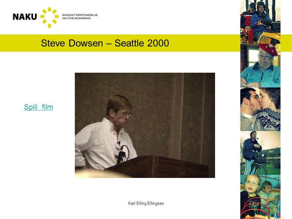 Steve Dowsen – Seattle 2000 Spill film Karl Elling Ellingsen