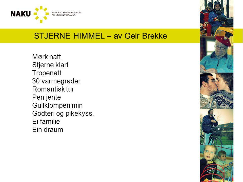 STJERNE HIMMEL – av Geir Brekke