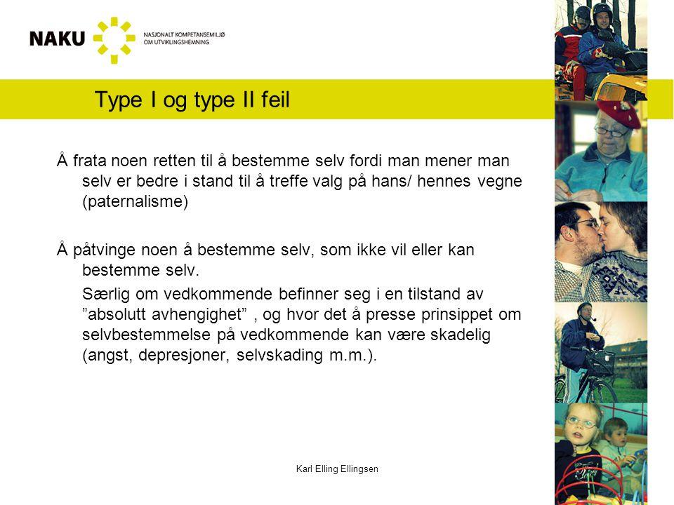 Type I og type II feil