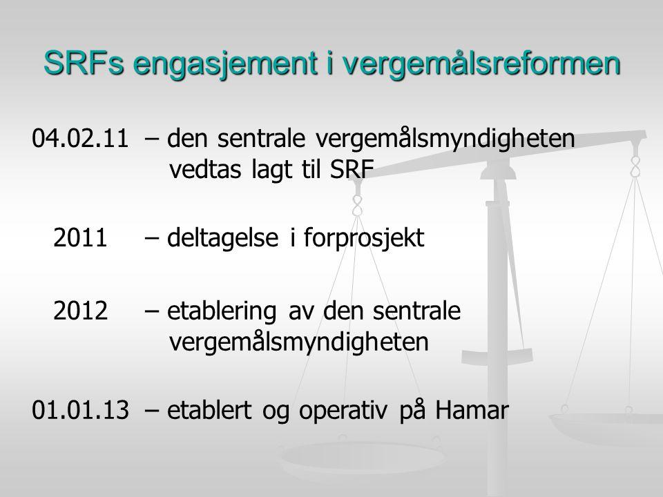 SRFs engasjement i vergemålsreformen