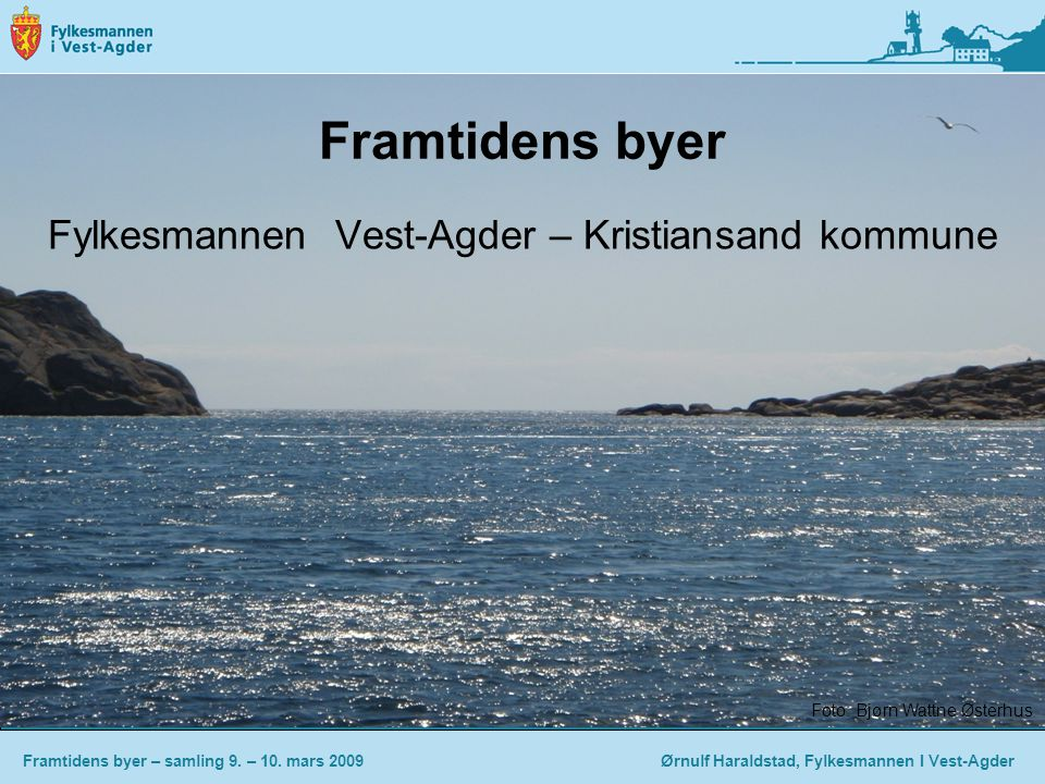 Fylkesmannen Vest-Agder – Kristiansand kommune
