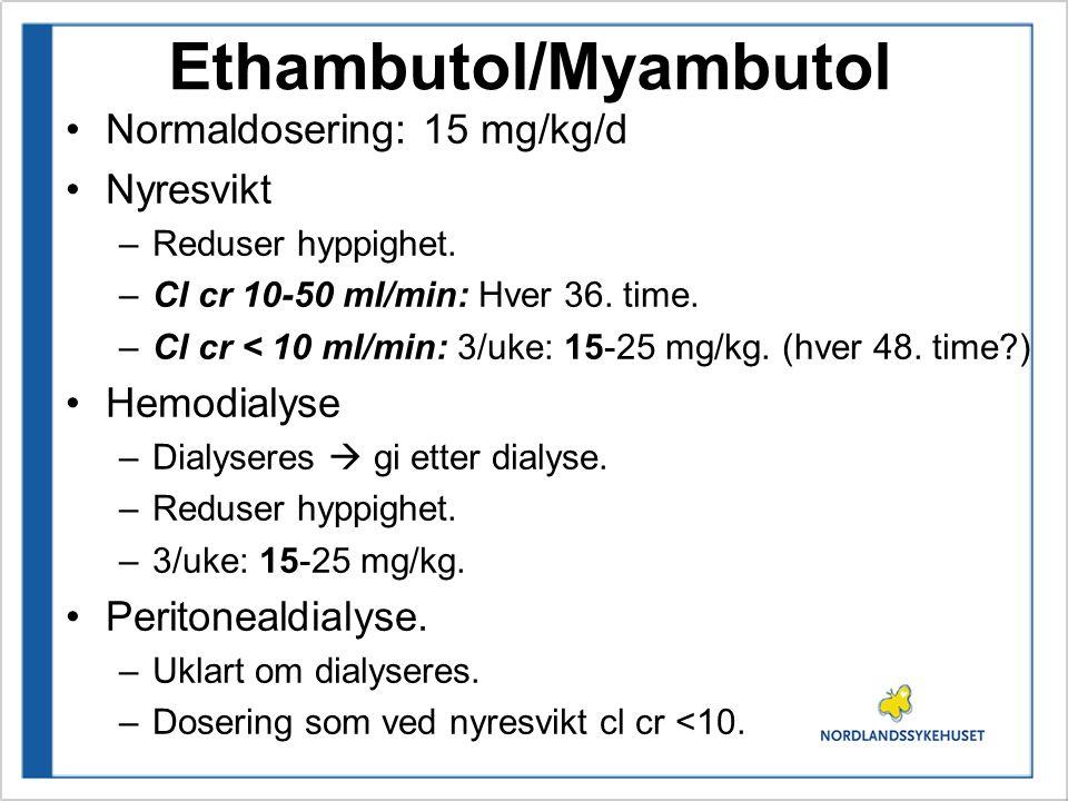 Ethambutol/Myambutol