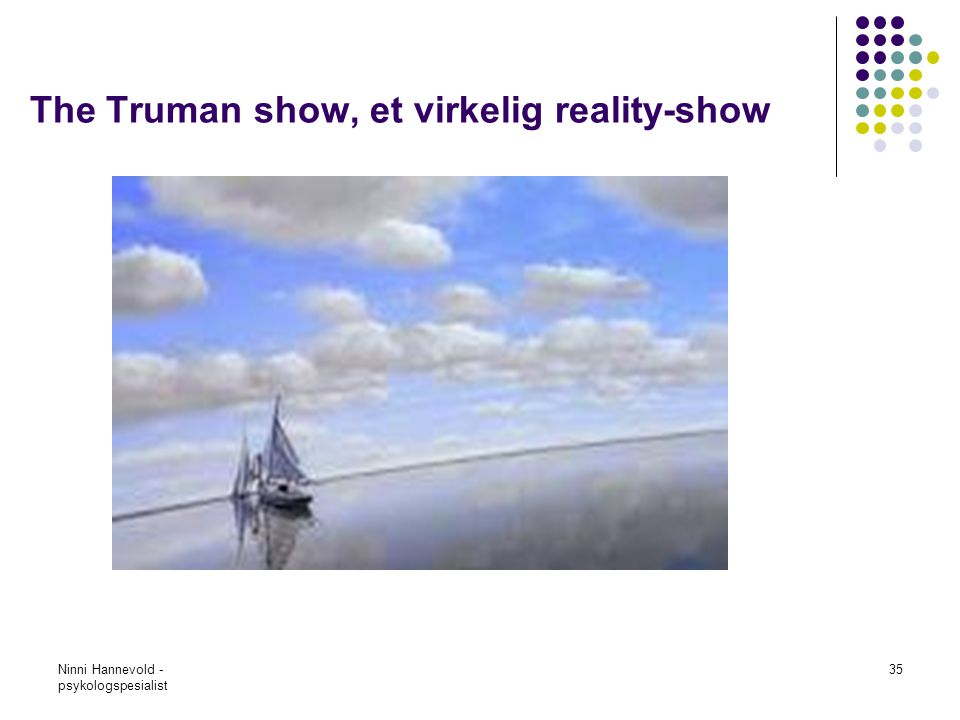 The Truman show, et virkelig reality-show