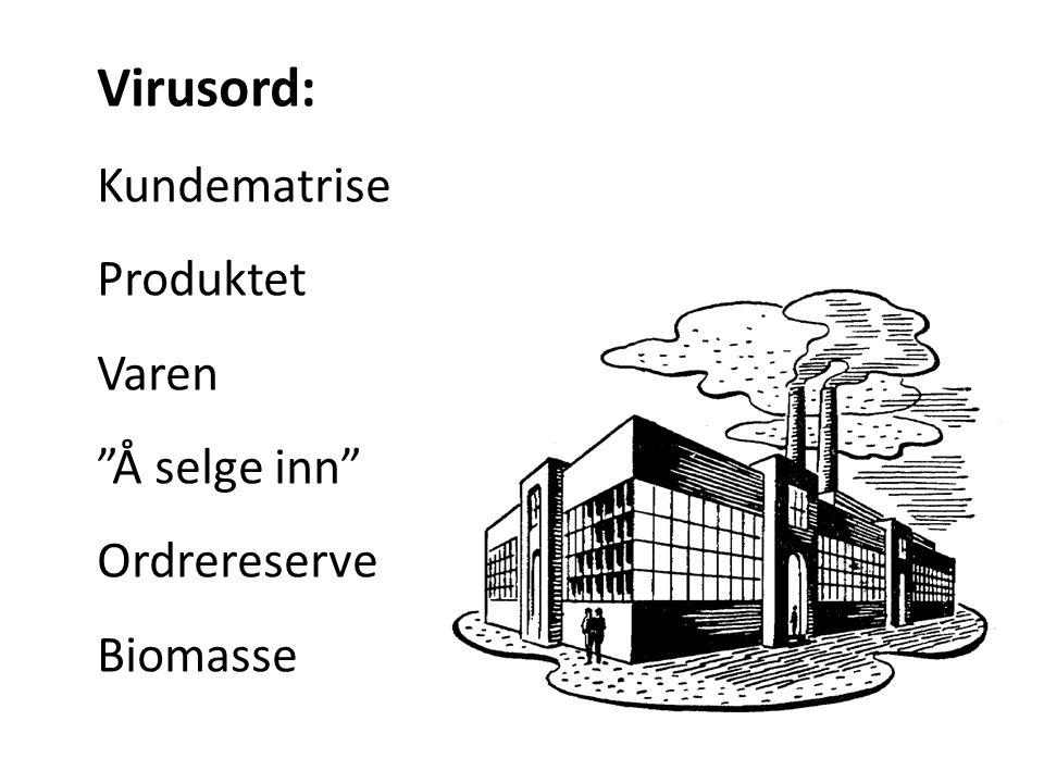 Virusord: Kundematrise Produktet Varen Å selge inn Ordrereserve