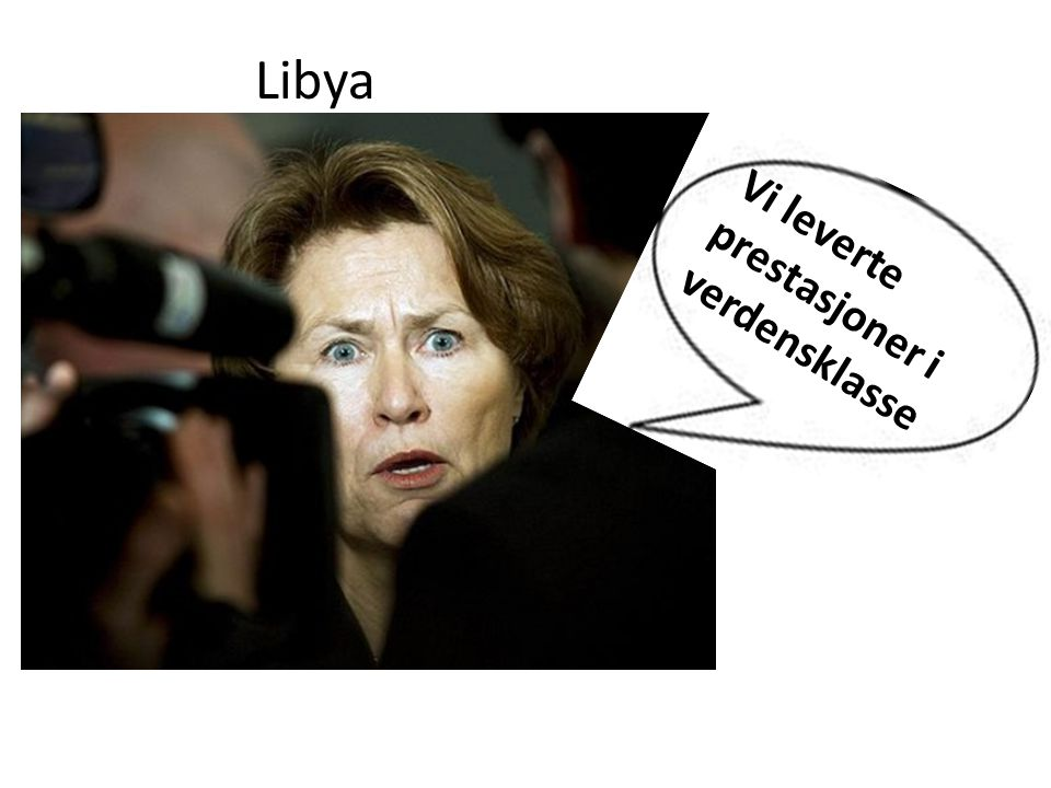 Libya Vi leverte prestasjoner i verdensklasse