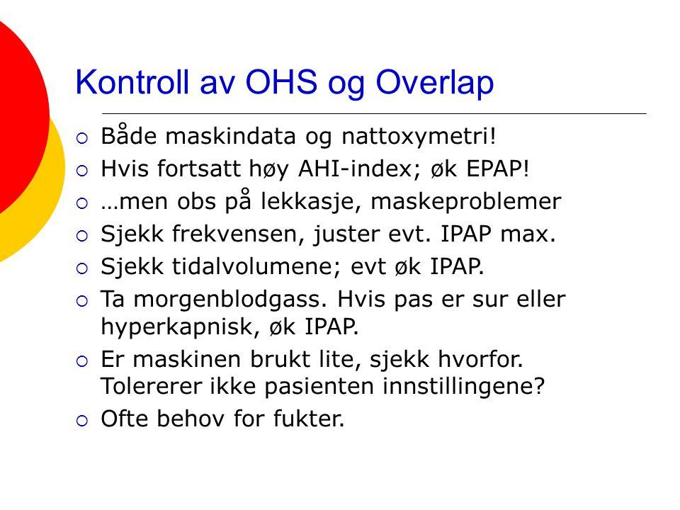 Kontroll av OHS og Overlap