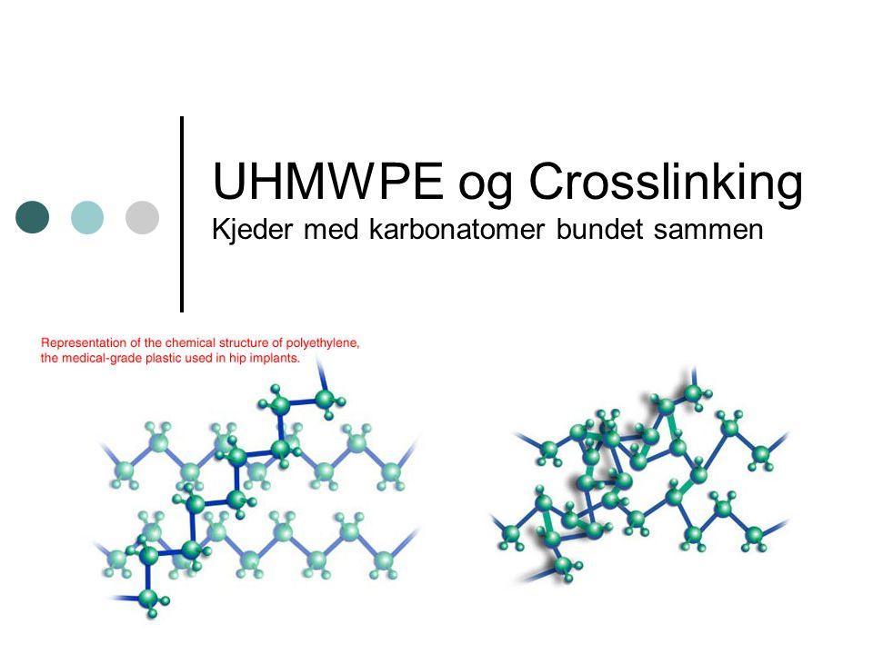 UHMWPE og Crosslinking Kjeder med karbonatomer bundet sammen