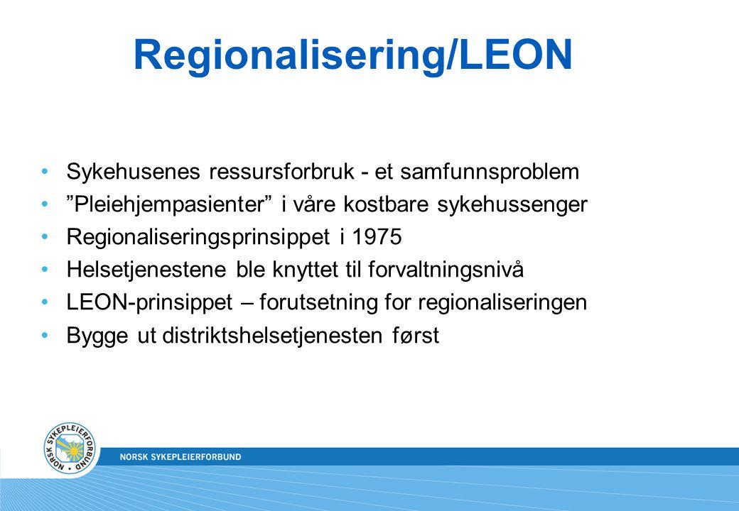 Regionalisering/LEON