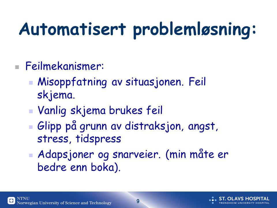 Automatisert problemløsning: