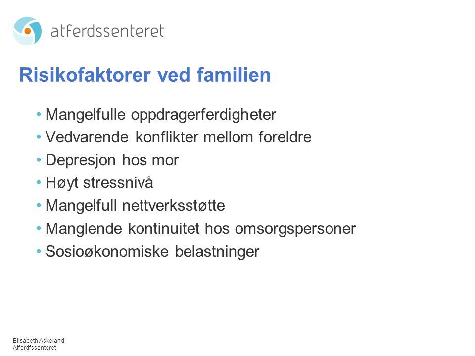 Risikofaktorer ved familien