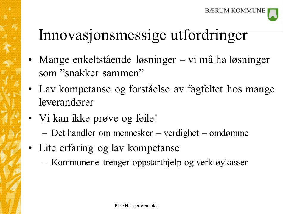 Innovasjonsmessige utfordringer