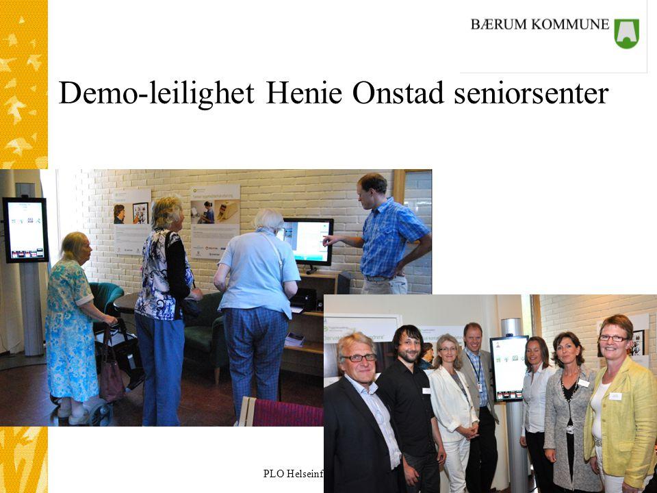 Demo-leilighet Henie Onstad seniorsenter