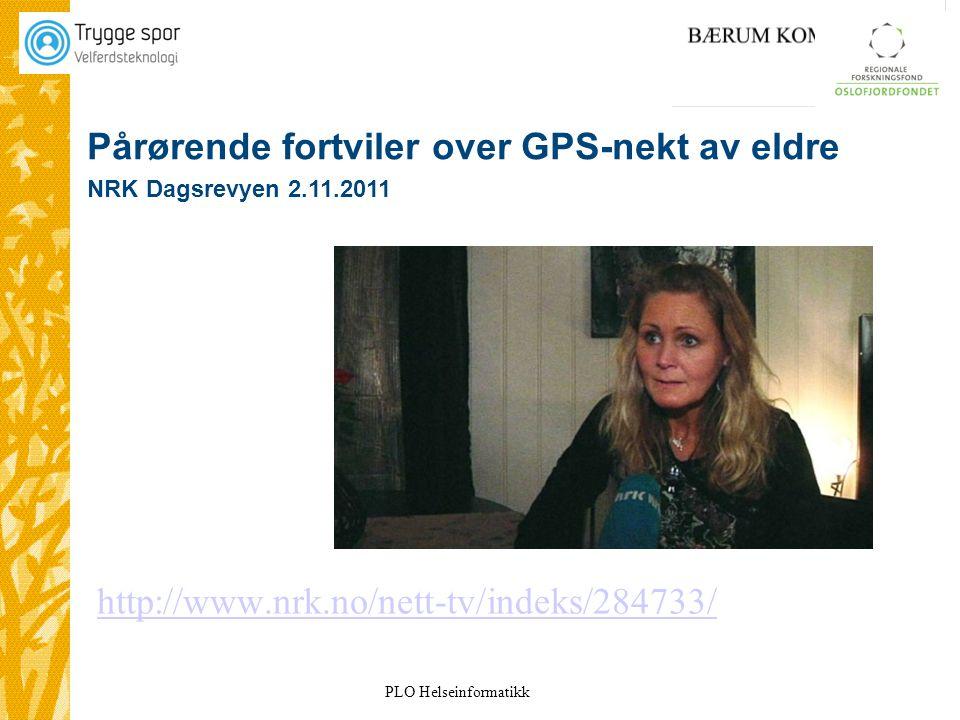 Pårørende fortviler over GPS-nekt av eldre