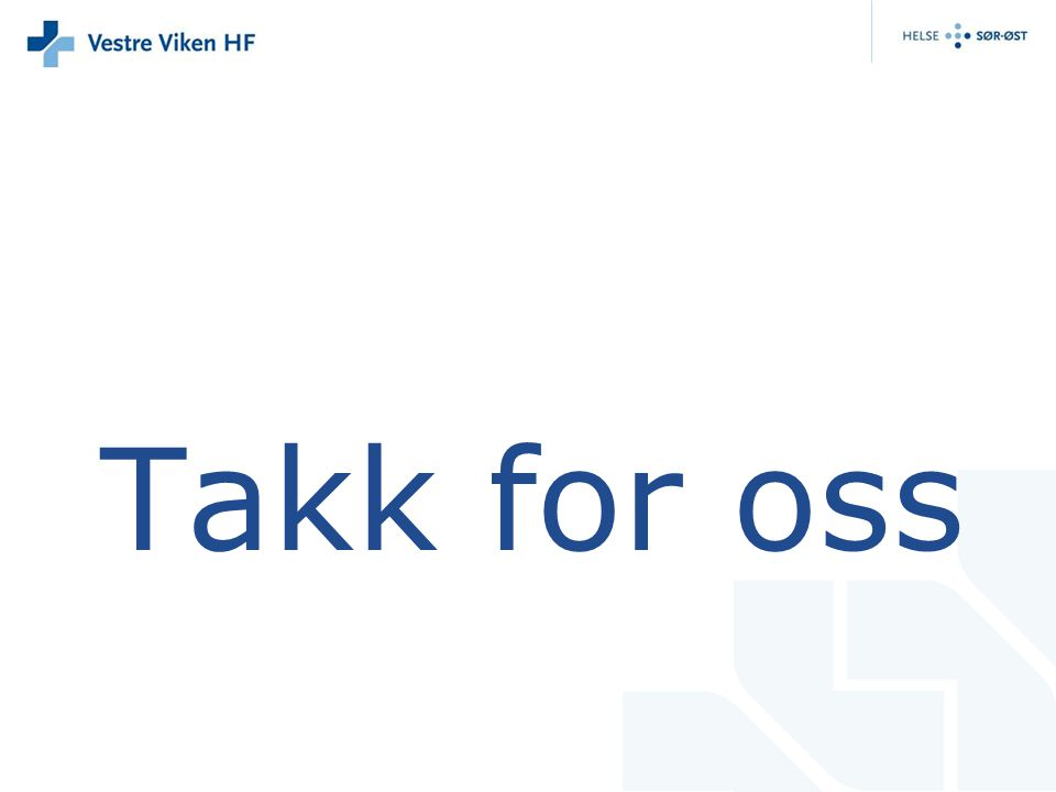 Takk for oss