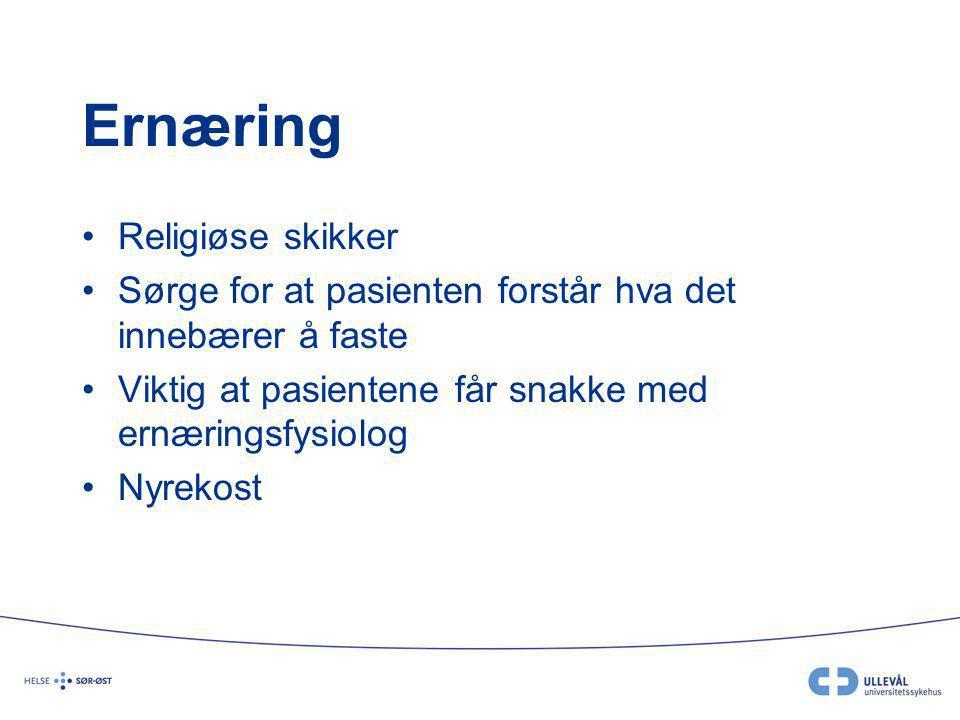 Ernæring Religiøse skikker