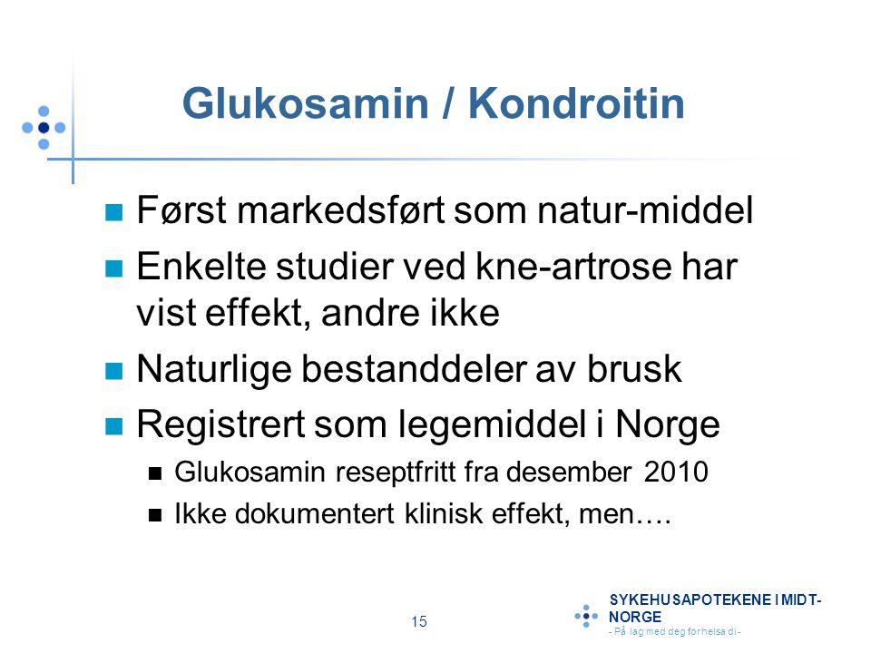 Glukosamin / Kondroitin