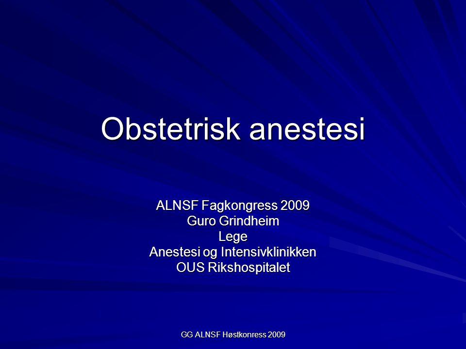 Anestesi og Intensivklinikken