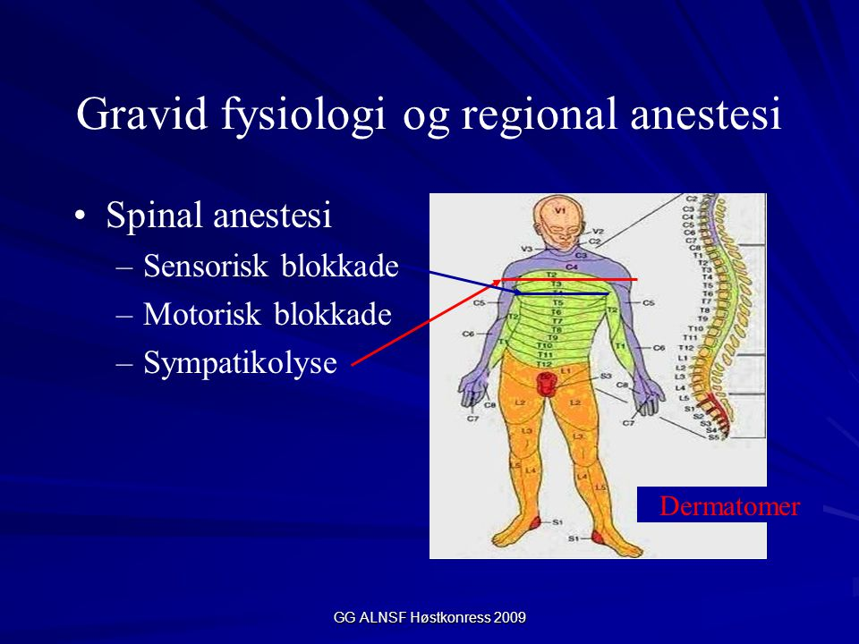 Gravid fysiologi og regional anestesi