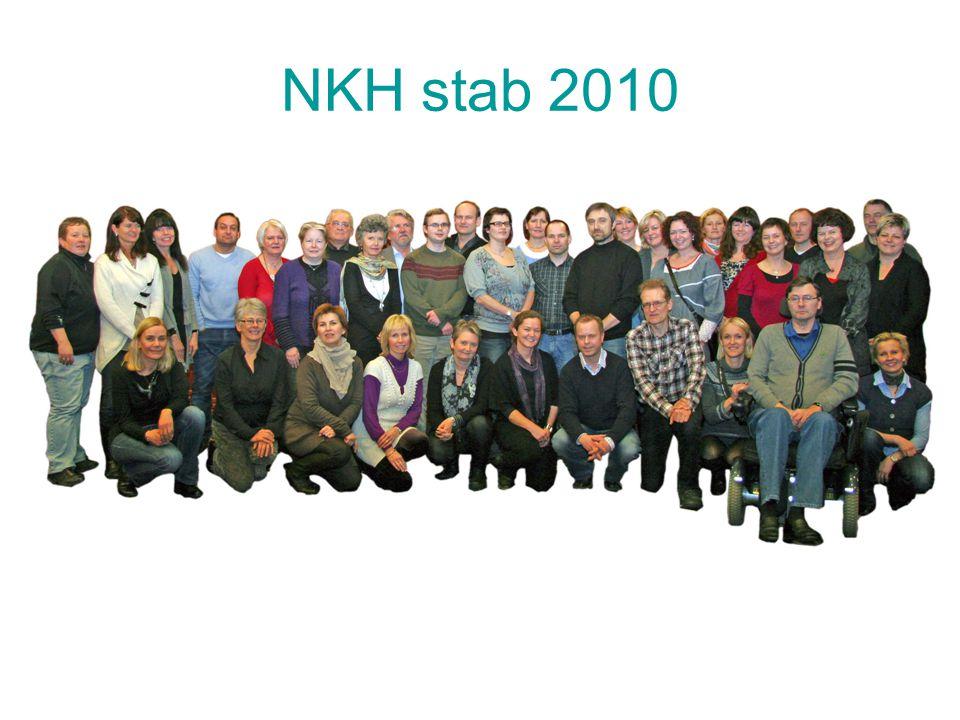 NKH stab 2010 Grunnlagt 2002.