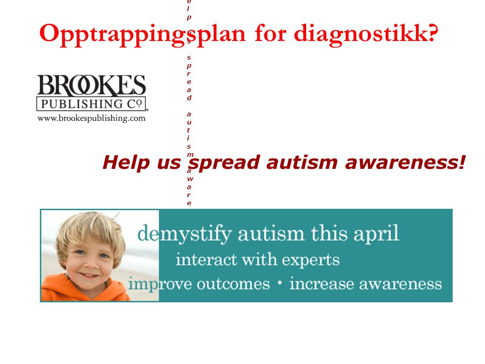 Opptrappingsplan for diagnostikk