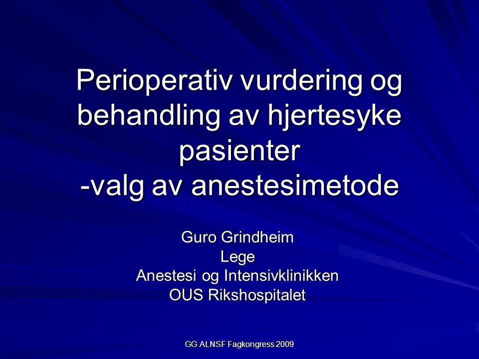 Guro Grindheim Lege Anestesi og Intensivklinikken OUS Rikshospitalet