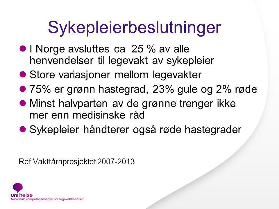 sykepleier i norge