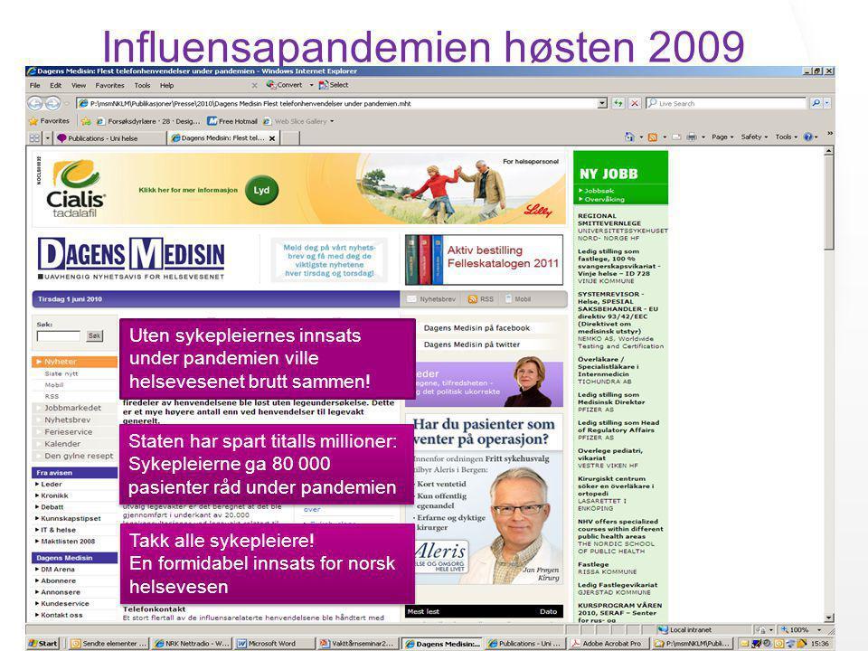 Influensapandemien høsten 2009