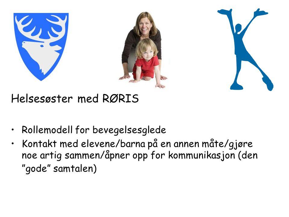 Helsesøster med RØRIS Rollemodell for bevegelsesglede