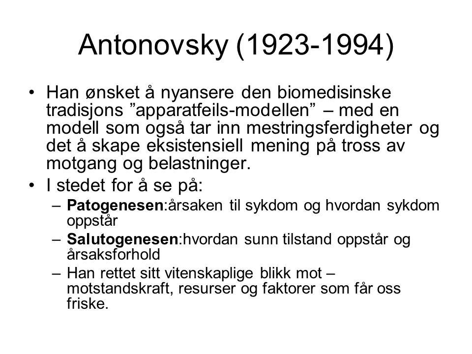 Antonovsky (1923-1994)