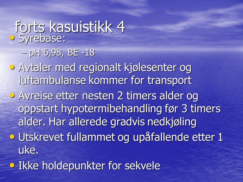 forts kasuistikk 4 Syrebase: