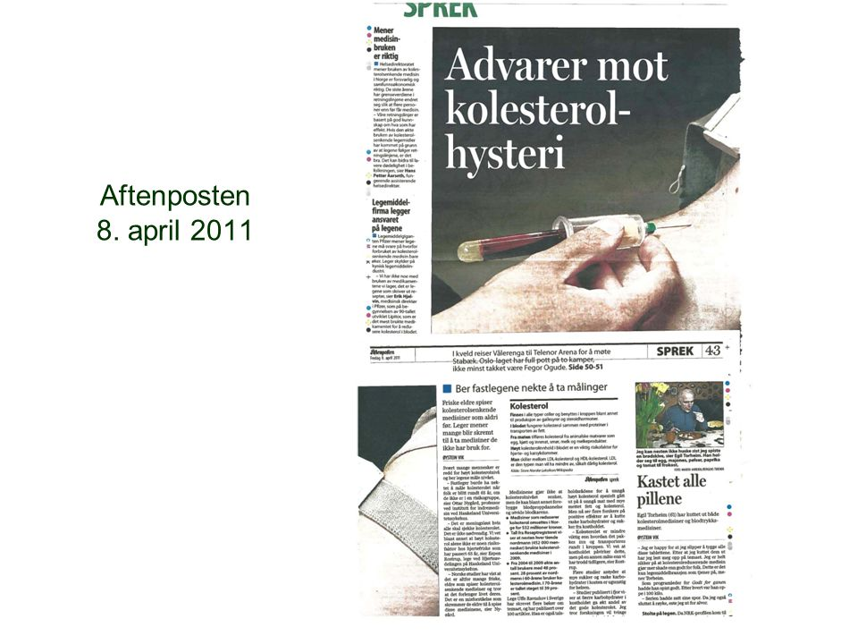 Aftenposten 8. april 2011