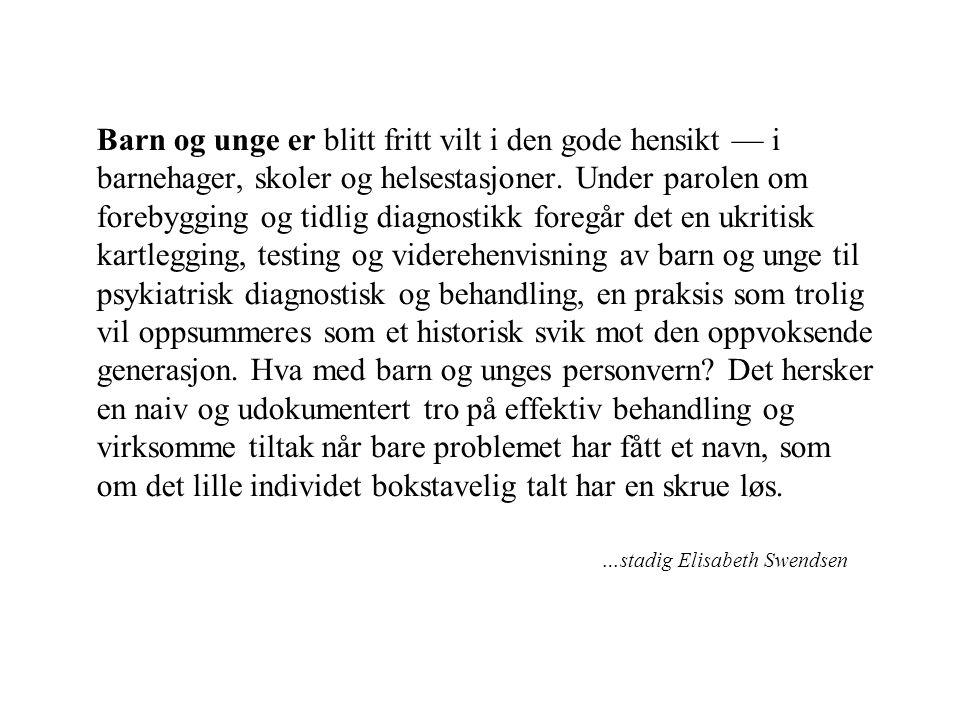 …stadig Elisabeth Swendsen