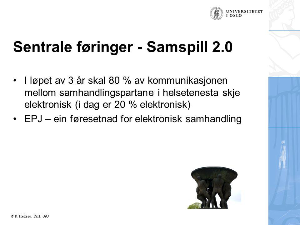 Sentrale føringer - Samspill 2.0