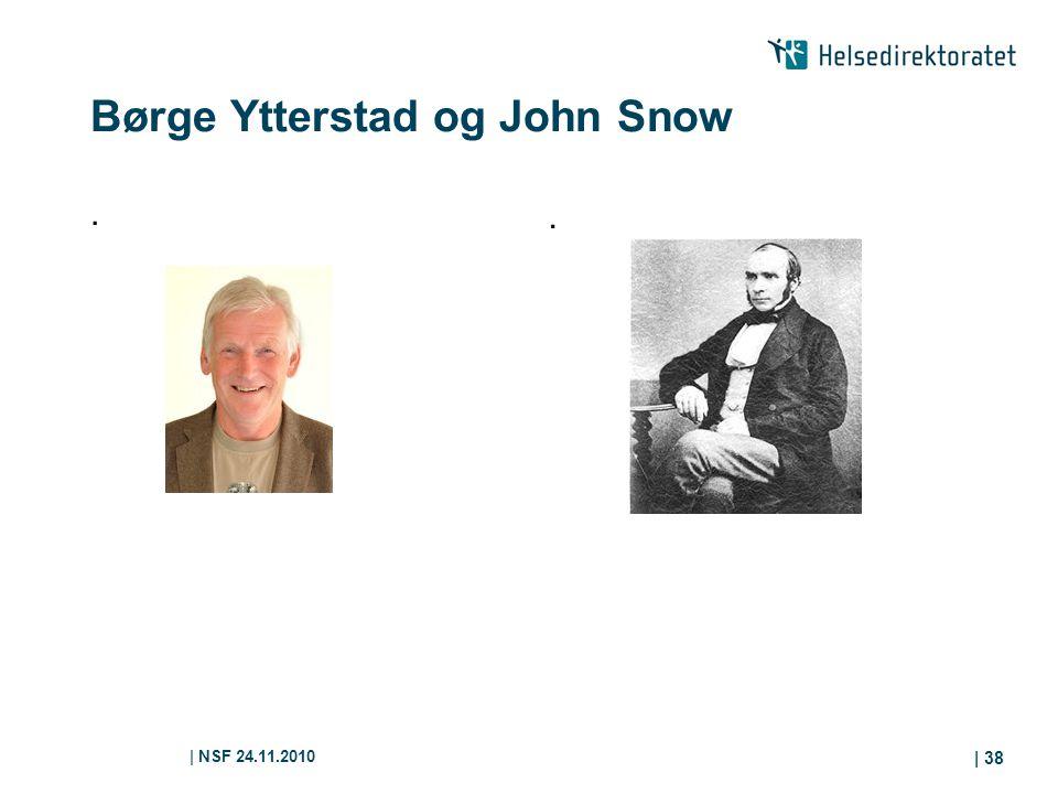 Børge Ytterstad og John Snow