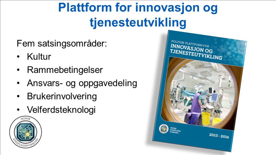 Plattform for innovasjon og tjenesteutvikling