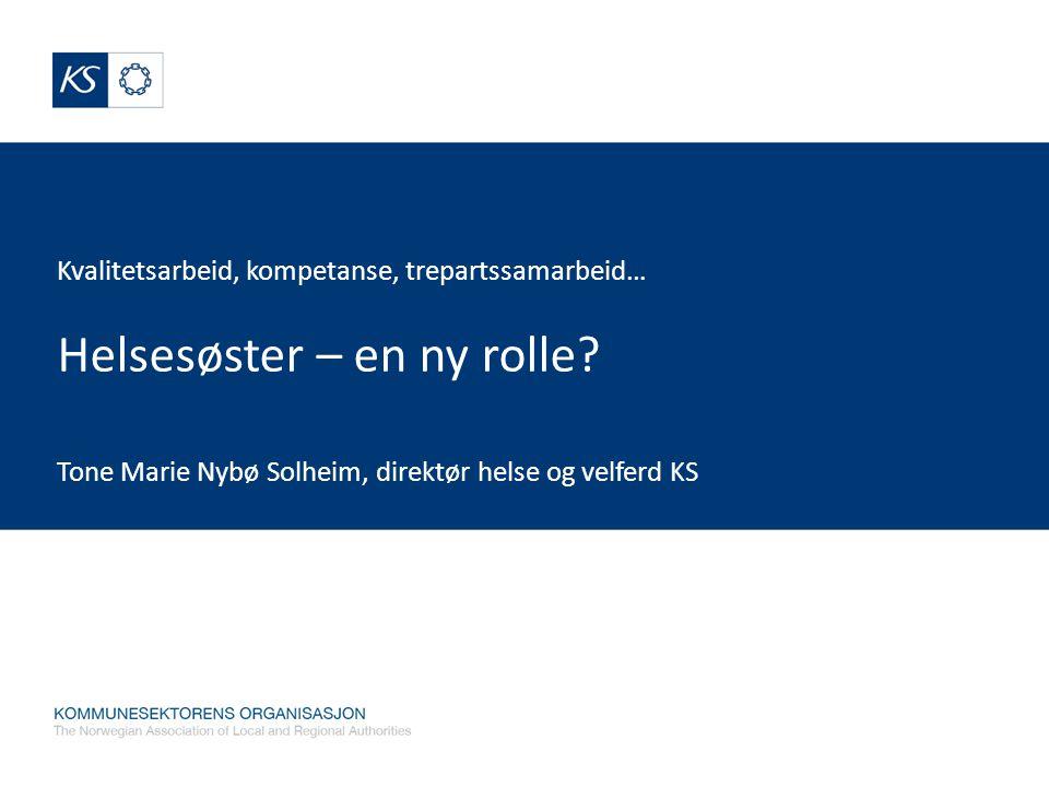 Tone Marie Nybø Solheim, direktør helse og velferd KS