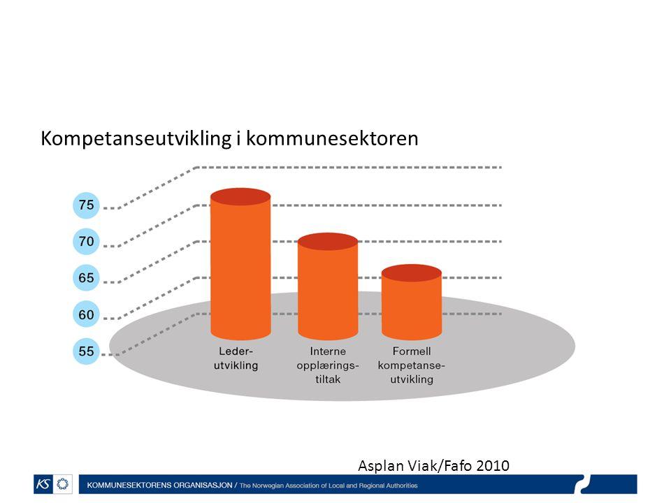 Kompetanseutvikling i kommunesektoren