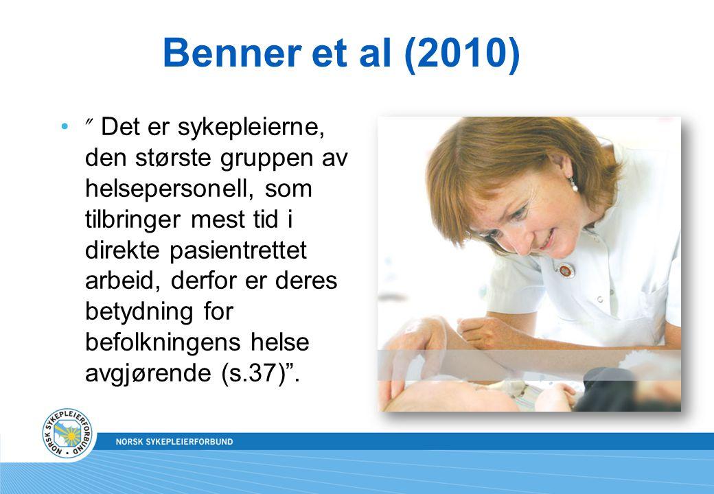 Benner et al (2010)