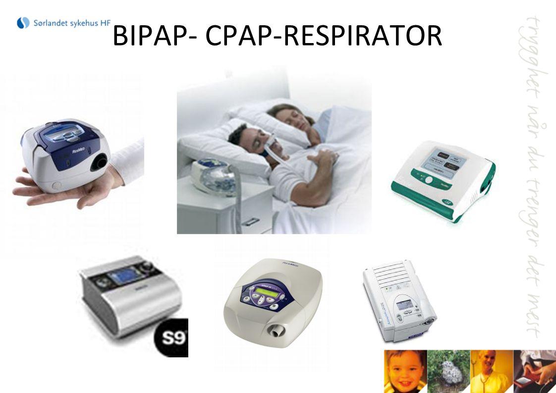 BIPAP- CPAP-RESPIRATOR