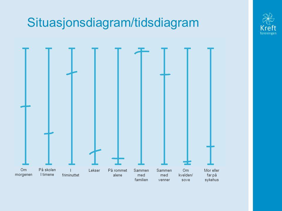 Situasjonsdiagram/tidsdiagram