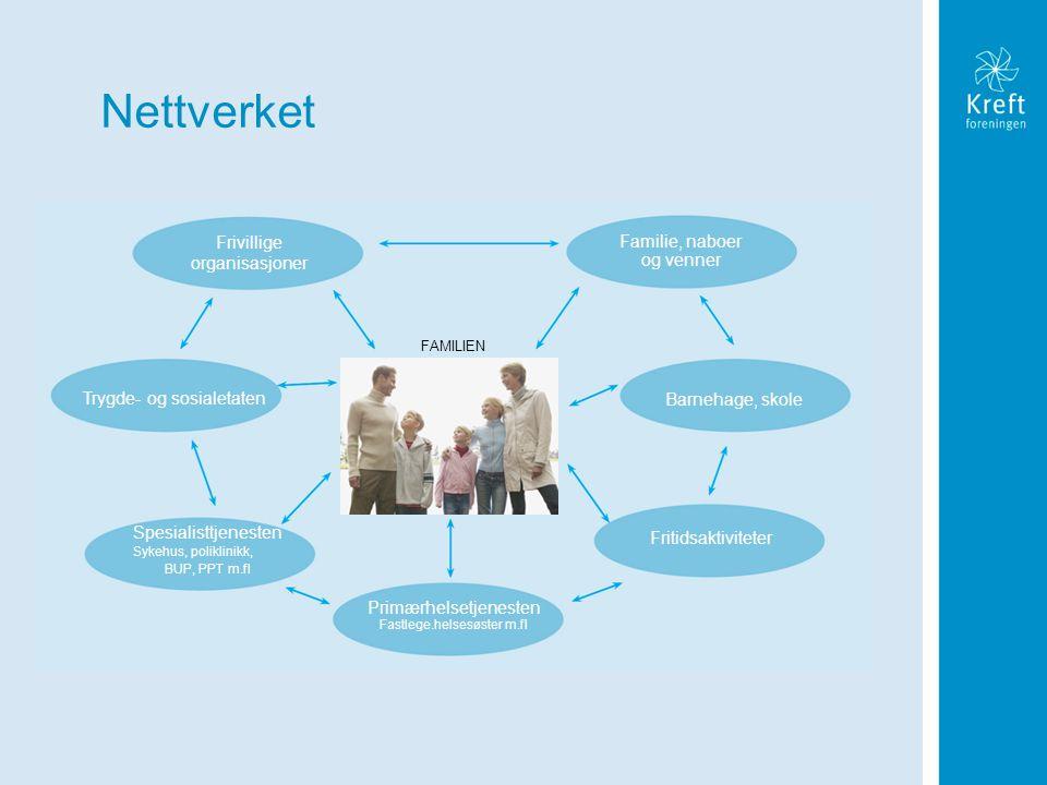 Nettverket Familie, naboer og venner Frivillige organisasjoner