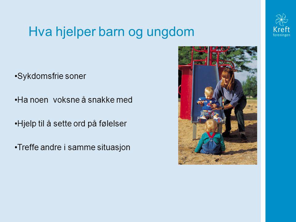 Hva hjelper barn og ungdom