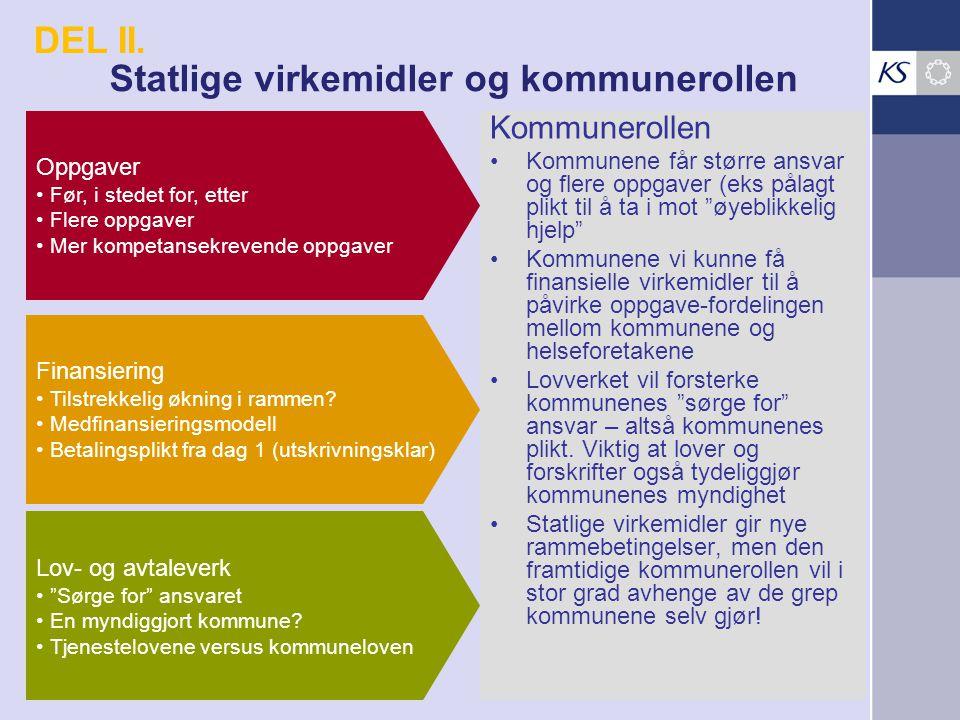 Statlige virkemidler og kommunerollen