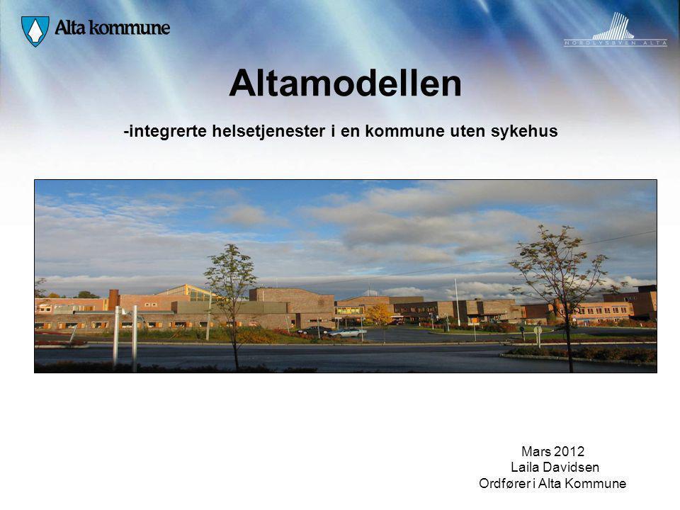 Altamodellen -integrerte helsetjenester i en kommune uten sykehus