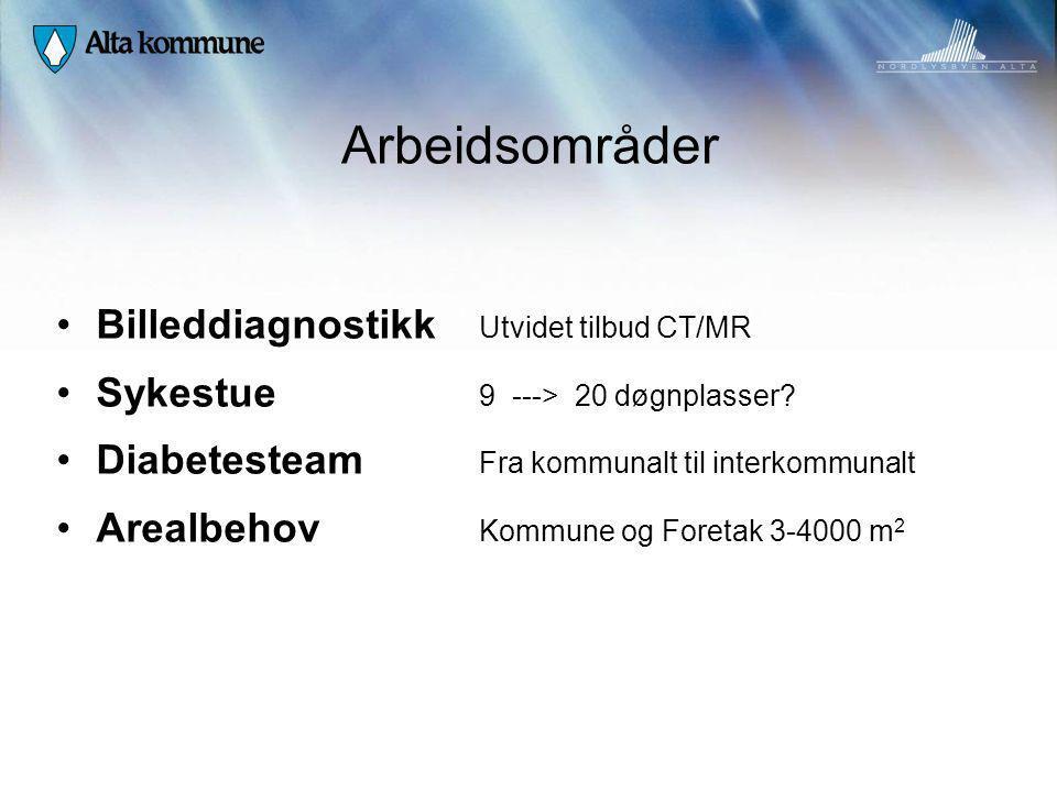 Arbeidsområder Billeddiagnostikk Utvidet tilbud CT/MR