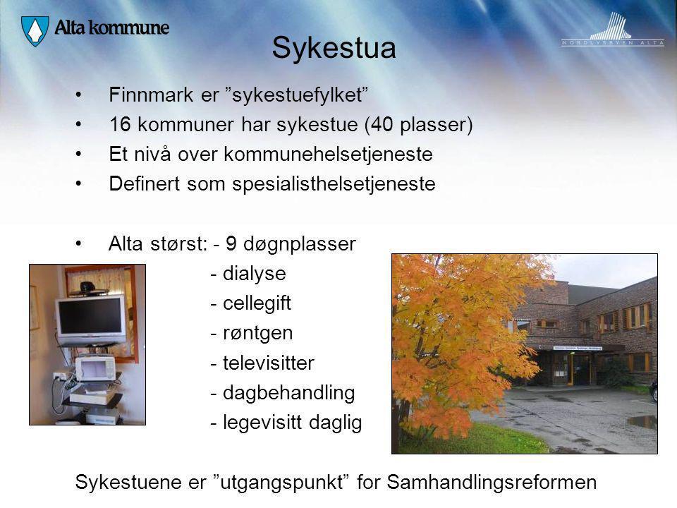 Sykestua Finnmark er sykestuefylket