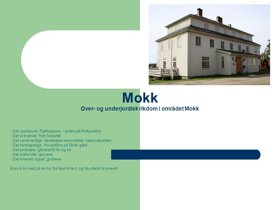 Mokk Over- og underjordisk rikdom i området Mokk